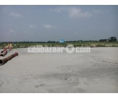 4 katha plot sale at keranigonj