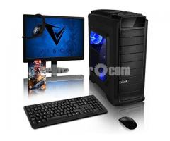 """Intel Core 2 Duo+250 GB HDD+RAM 2 GB with 17"""" LED"""