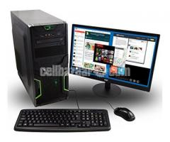"""Intel Core 2 Duo+320GB HDD+RAM 2 GB with 17"""" LED"""