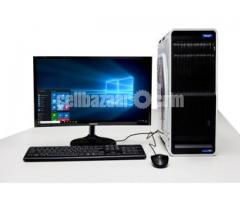 "Intel Core i3+500GB HDD+RAM 2 GB with 17"" LED"