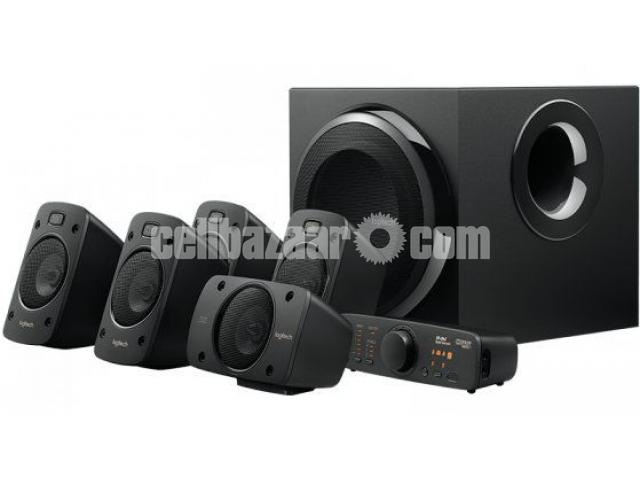 Logitech Z906 Wireless 5:1 Multimedia Home Audio Speaker - 1/1
