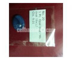 Opal blu stone