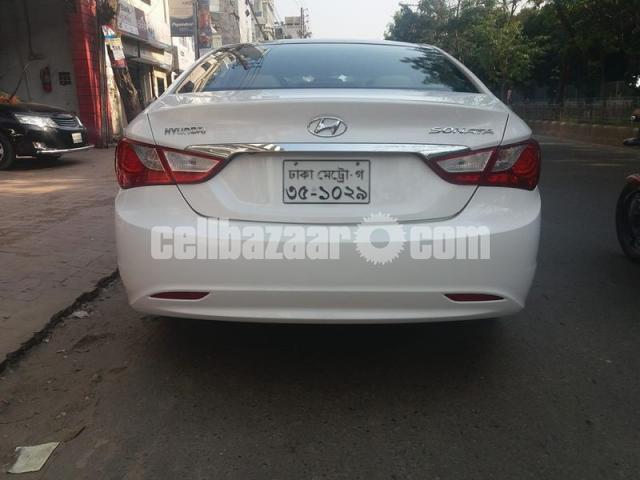 Hyundai Sonata Sunroof 2012 - 5/5