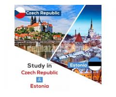 Study in Czech republic and Estonia