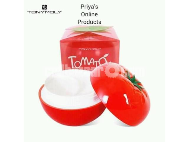 Tony Moly Tomatox Magic White Massage Pack (80g) - 1/5