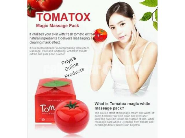 Tony Moly Tomatox Magic White Massage Pack (80g) - 2/5
