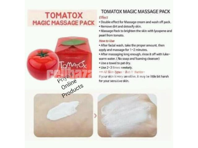 Tony Moly Tomatox Magic White Massage Pack (80g) - 3/5