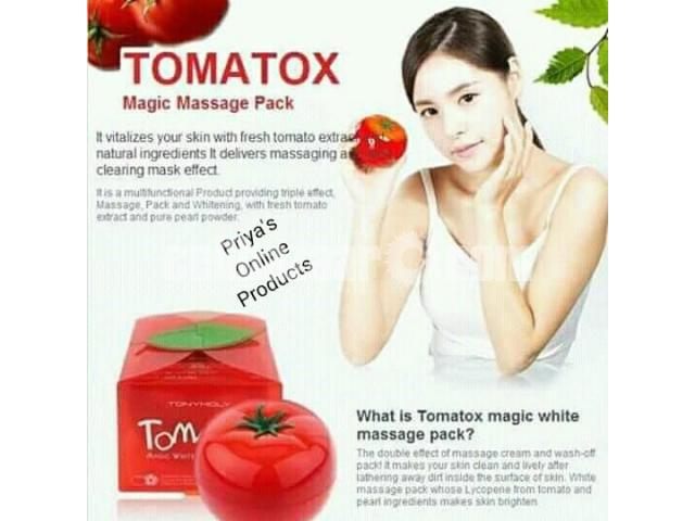 Tony Moly Tomatox Magic White Massage Pack (80g) - 5/5