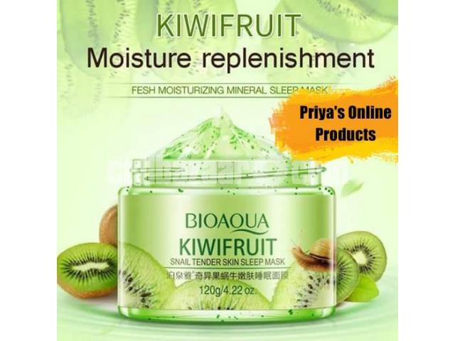 Bioaqua KiwiFruit Whitening Sleep Mask - 1/1