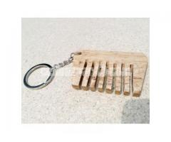 Curved Comb Key Ring