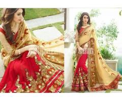 Indian Designer Georgette Saree