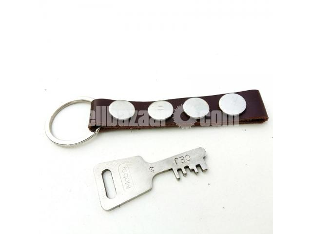 Leather Key Ring - 2/2