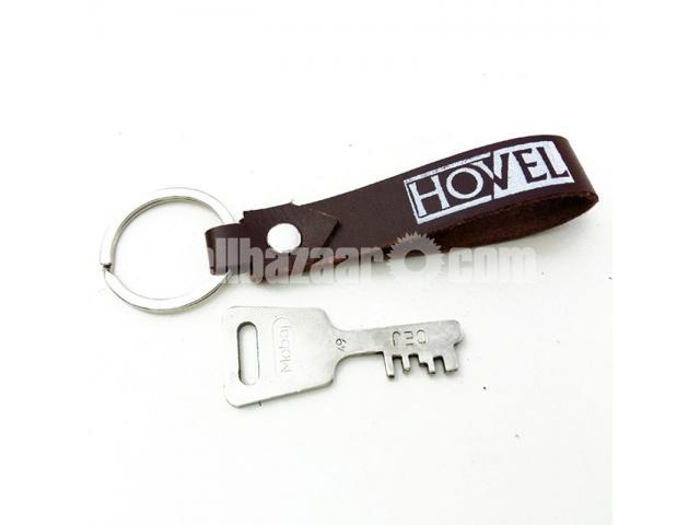 Leather Key Ring - 1/2