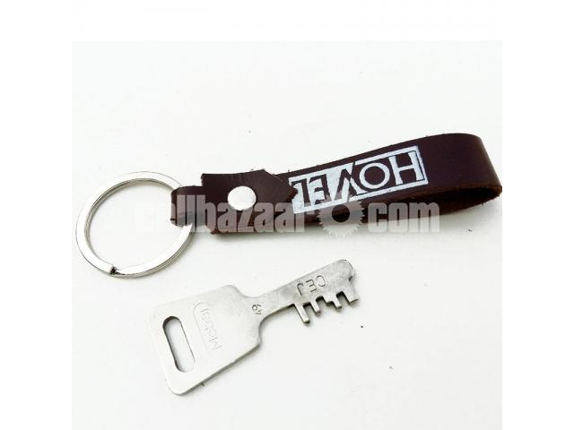 Leather Key Ring - 2/2