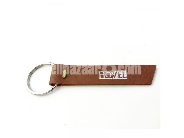 Leather Key Ring - 2/3
