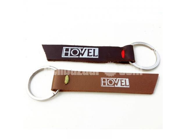 Leather Key Ring - 3/3