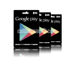 itunes,google play gift cards,play station store giftcard  (us)