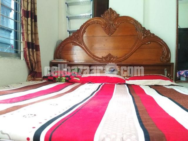 Box bed(7/6'') 1no shegun wood - 2/5