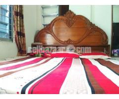 Box bed(7/6'') 1no shegun wood