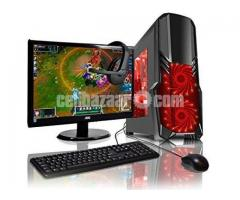 "GAMING Core i3 7th gen 4GB 500GB 17""LED - Image 2/3"