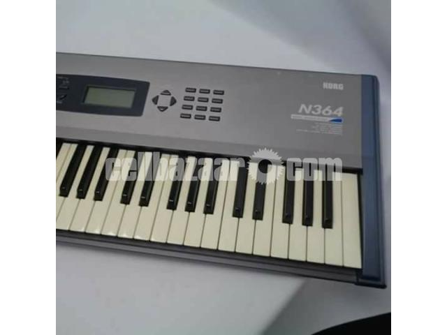 new korg N364 keyboard - 2/3