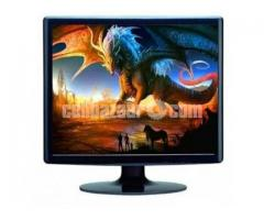 Sky View Full HD 17 Inch Built-In Speaker LED TV Monitor