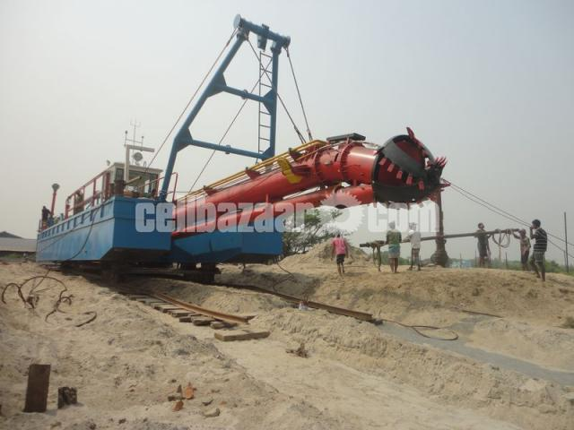Brand New 20 Inch cutter suction dredger with standard accessories - 2/5