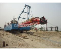 Brand New 20 Inch cutter suction dredger with standard accessories