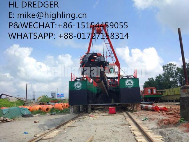 2018 New Highling 20 Inch Cutter Suction Dredger For Sale - 1/4