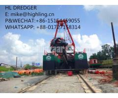 2018 New Highling 20 Inch Cutter Suction Dredger For Sale - Image 1/4
