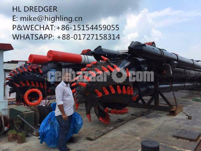 2018 New Highling 20 Inch Cutter Suction Dredger For Sale - 2/4