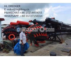 2018 New Highling 20 Inch Cutter Suction Dredger For Sale
