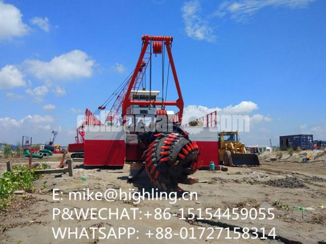 2018 New Highling 20 Inch Cutter Suction Dredger For Sale - 3/4
