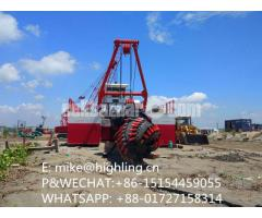 2018 New Highling 20 Inch Cutter Suction Dredger For Sale - Image 3/4
