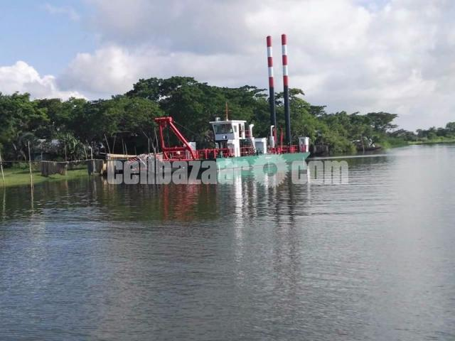 Bangladesh 18inch Cutter Suction Dredger For River Dredging In Stock