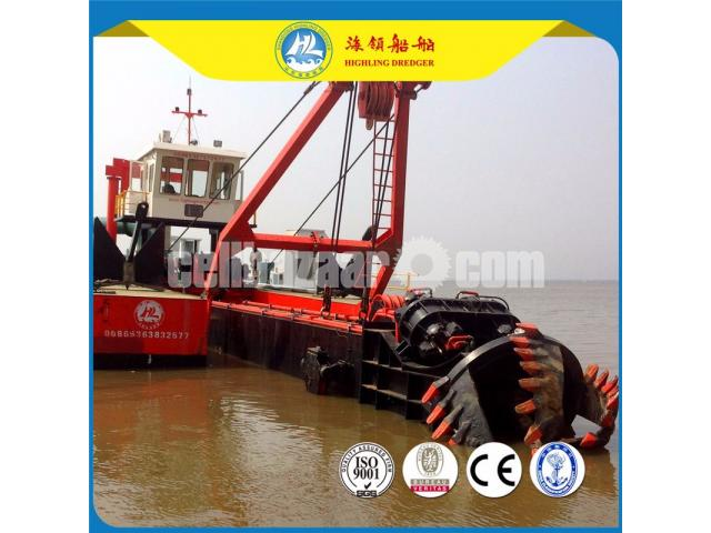 Bangladesh 18inch Cutter Suction Dredger For River Dredging In Stock - 3/3