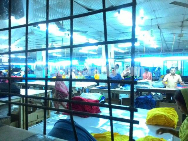 4.29 bigha factory with 11 bigha land composite garment factory at savar - 2/5
