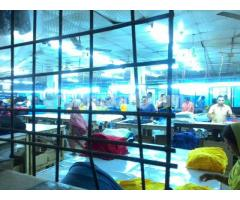 4.29 bigha factory with 11 bigha land composite garment factory at savar