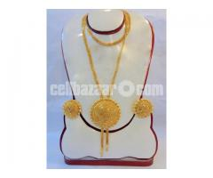 indian gold plated jewellery