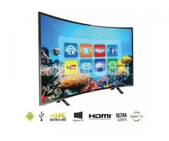 """New Wi-Fi Android Curved Led  Tv View One-40""""3D+Fhd"""