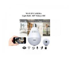 WiFi IP Camera IR Light Bulb (SPY/HIDDEN)