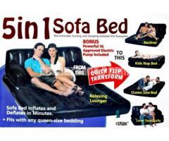 5 in 1 Air Bed Sofa cum bed