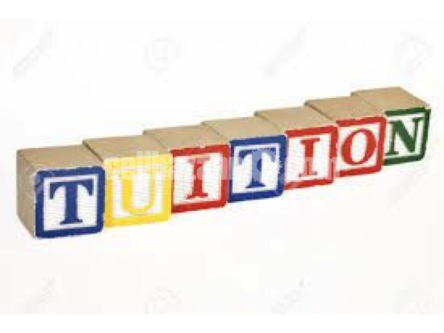 Tuition Wanted - 3/3