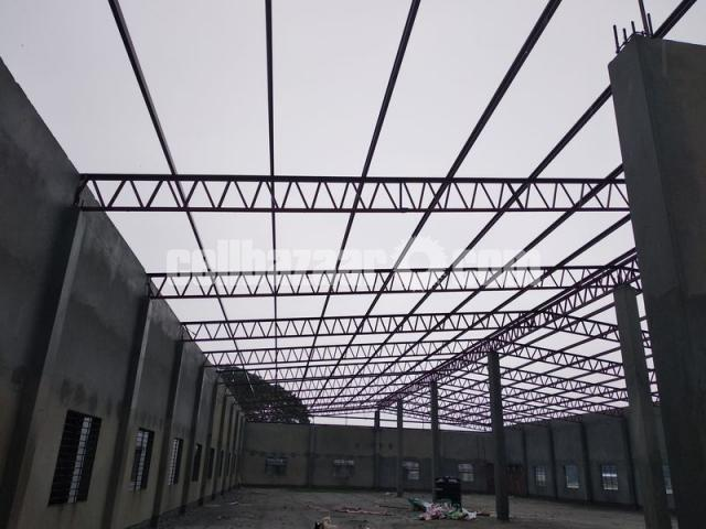 9500 sqft shed for rent at savar kuturia - 1/4