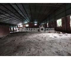 15000 sqft factory shed for rent at savar kuturia