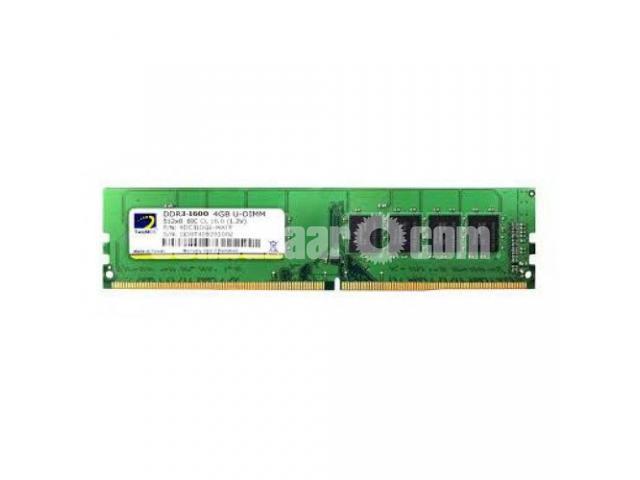 4GB DDR3 Ram - 1/2