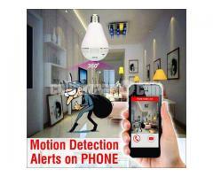 Wifi IP Camera Spy IR Light Bulb