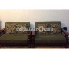 Sofa wooden 2 years used