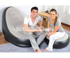 2 in 1 Air Chair and Footrest Sofa in BD