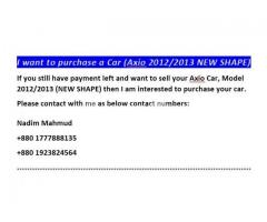 Want to purchase Axio 2012/2013 (New Shape) - Image 4/5